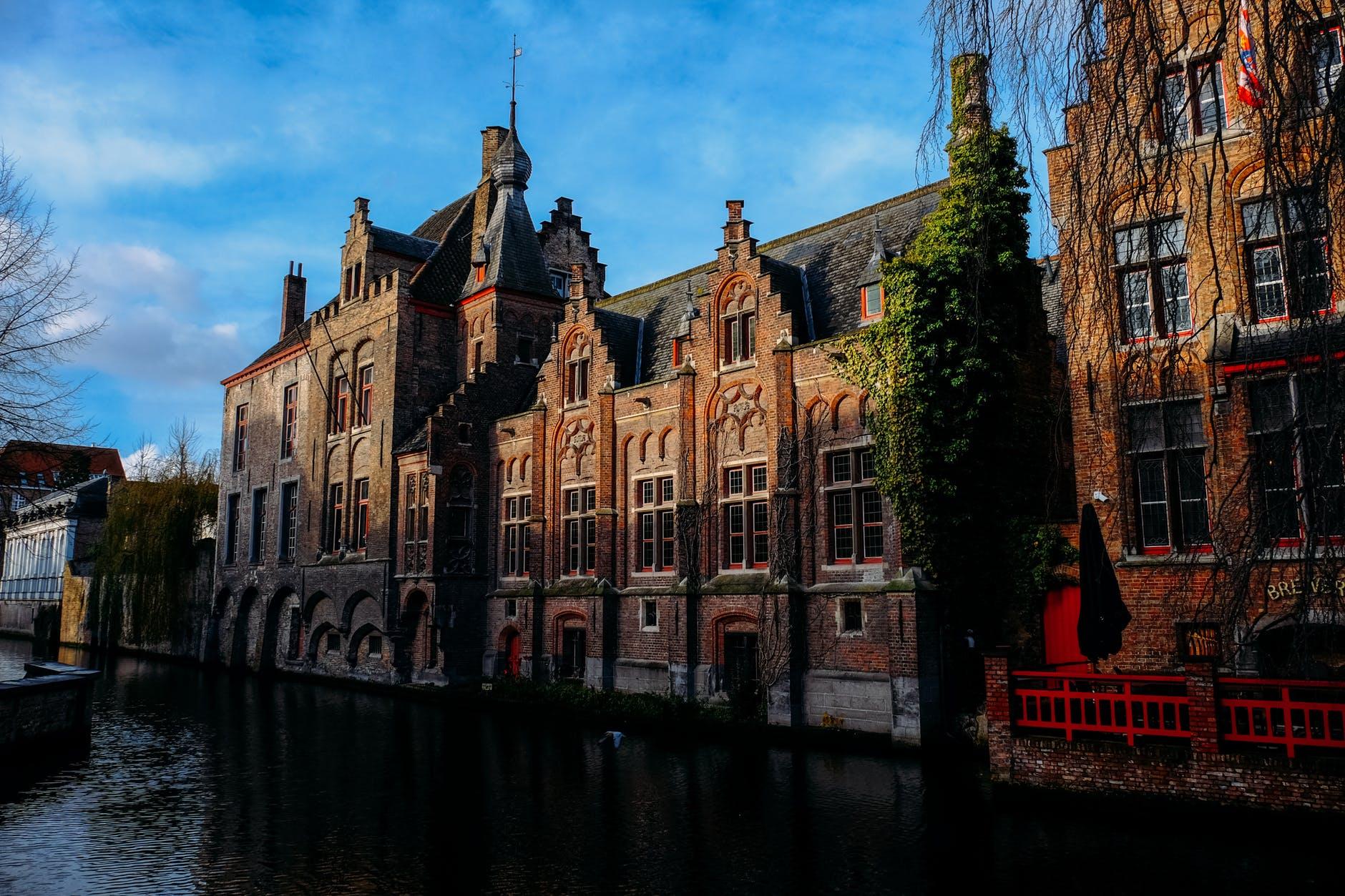 Teen girls in Bruges